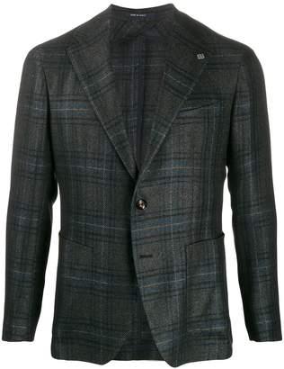 check blazer jacket