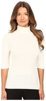 Theory Leenda B Refine Short Sleeve Turtleneck Women's Short Sleeve Pullover