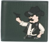 Dolce & Gabbana cowboy patch wallet