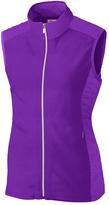 Cutter & Buck Purple Laura Hybrid Vest - Plus Too