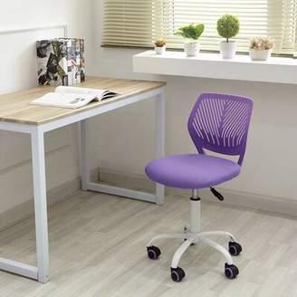 Ebern Designs Marpole Task Chair Ebern Designs Frame Color: Purple/White