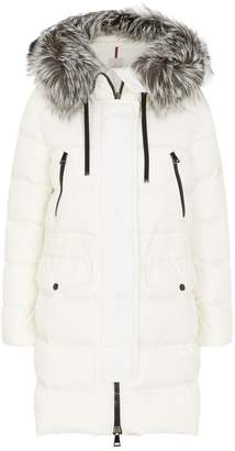 Moncler Fur-Trim Aphroti Jacket