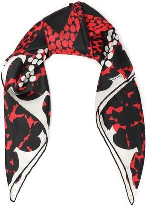 Givenchy Printed Silk-twill Scarf