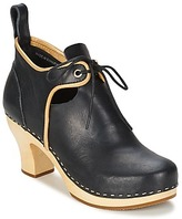 Swedish Hasbeens 18TH CENTURY BOOTIE BLACK / Natural / Sole