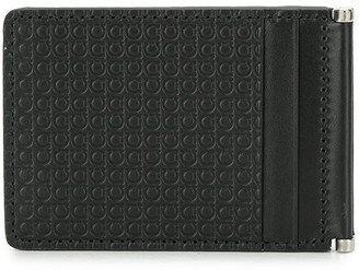 Salvatore Ferragamo debossed Gancini credit card holder