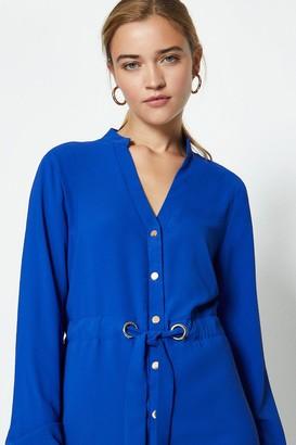 Coast Popper Front Shirt Dress