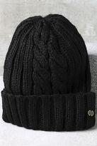 Billabong Icy Sands Black Knit Beanie