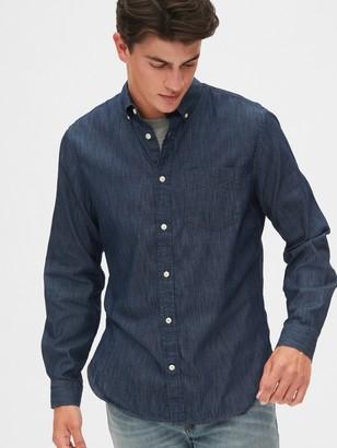 Gap Denim Shirt in Slim Fit