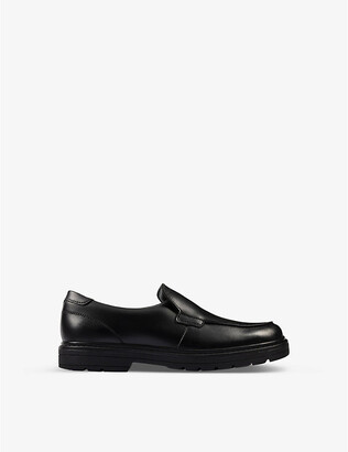 Clarks Loxham Grove Youth leather loafers 9-12 years