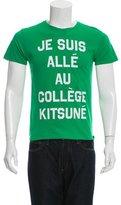 MAISON KITSUNÉ Graphic Crew Neck T-Shirt