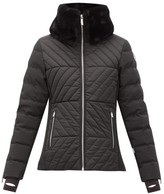 Fusalp - Poudreuse Collar-trim Quilted-down Ski Jacket - Womens - Black