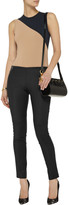 Theory Keil zip-detailed stretch-woven leggings