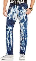 Rock Revival Acid Wash Alternate Straight Fit Jeans
