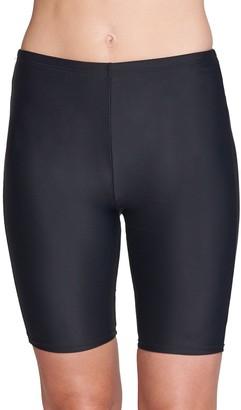 Women's Mazu Swim Hip Minimizer Capri Swim Shorts