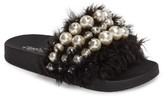 Jeffrey Campbell Women's Jova Embellished Slide