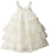 Mud Pie Ivory Mesh Dress Girl's Dress