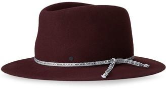 Maison Michel Andre collapsable trilby hat