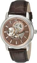 Stuhrling Original Men's 1076.3315K59 Classic Delphi Acheron Automatic Skeleton Watch