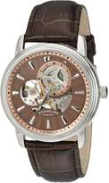 Stuhrling Original Men's Classic Delphi Acheron Skeleton Watch 1076.3315K59