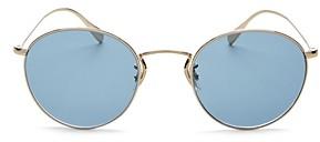 Oliver Peoples Men's Coleridge Round Sunglasses, 50mm