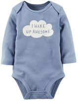 Carter's Baby Boy Long Sleeve Graphic Bodysuit