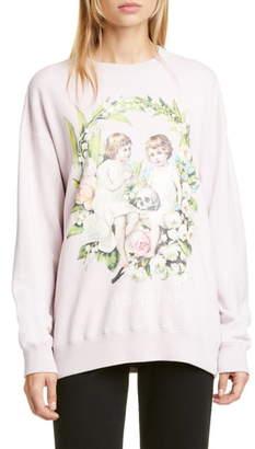 Undercover Suspirium Graphic Crewneck Sweatshirt