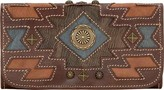 American West Women's Zuni Passage Tri-Fold Wallet