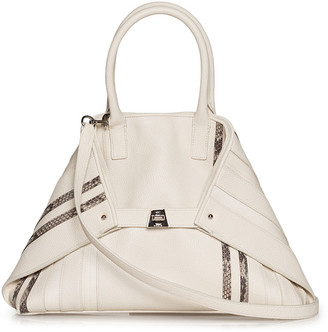 Akris Ai Small Leather Top-Handle Bag