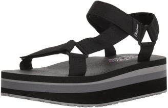 Skechers Women's Whip IT-Carnivale-Adjustable Slingback Platform Sandal