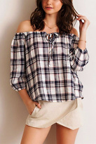 Entro Plaid Top