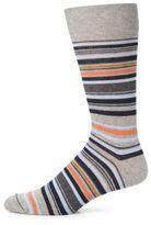Saks Fifth Avenue COLLECTION Merino Striped Socks