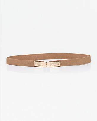 Le Château Jewel Embellished Elastic Belt