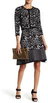 Taylor Matching Knit Dress & Cardigan Two-Piece Set