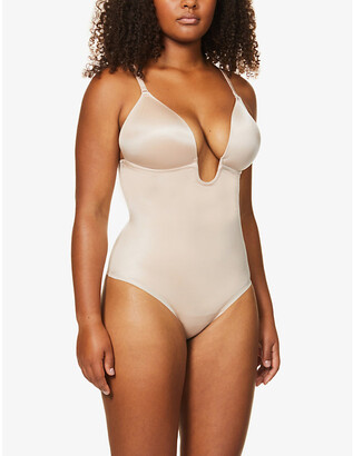 Spanx Suit Your Fancy stretch-jersey thong body