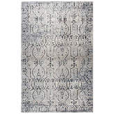 Panache Rizzy Home Collection Maggie Scroll Rectangular Rugs, One Size , Brown