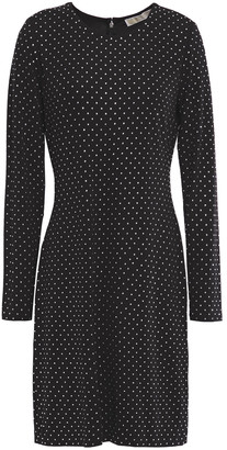 MICHAEL Michael Kors Crystal-embellished Jersey Dress