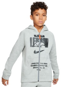 Nike Big Boys Fleece LeBron Hoodie
