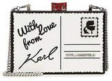 Karl Lagerfeld Printed Box Clutch