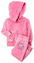 Butter Shoes Infant Girls) Two-Piece Hoodie & Sweatpants Set