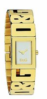 Dolce & Gabbana Women's SHOUT DW0290 Gold Stainless-Steel Quartz Watch with Dial