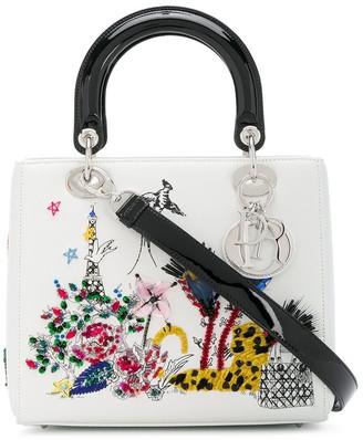 Christian Dior Pre Owned medium Lady 2way bag