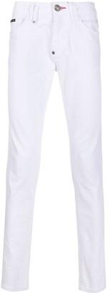 Philipp Plein Mid-Rise Slim Jeans