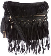 Jimmy Choo Fringe Leather Hobo