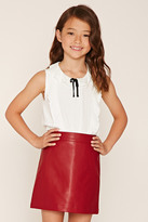 Forever 21 FOREVER 21+ Girls Ruffled Top (Kids)