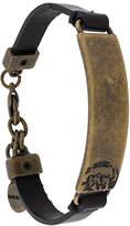 Diesel metal detail bracelet