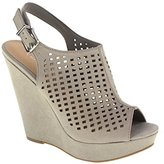 Chinese Laundry Women's Meet Up Micro-Suede Wedge Sandal
