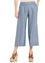 M.S.S.P. Stretch Linen Wide Leg Pant