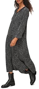 Whistles Longline Freckle Print Enora Dress