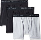 Fruit of the Loom Men's Breathable Boxer Brief Assorted Colors (Pack of 3)