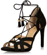 Michael Kors Black Tie-Up Sandal